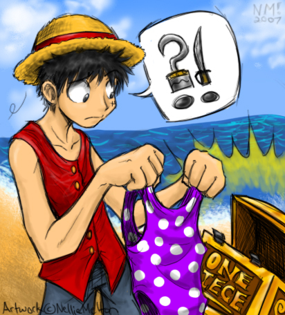 ICI pour les fans d'art ONE PIECE Fanart__Luffy_Finds_One_Piece_by_sp